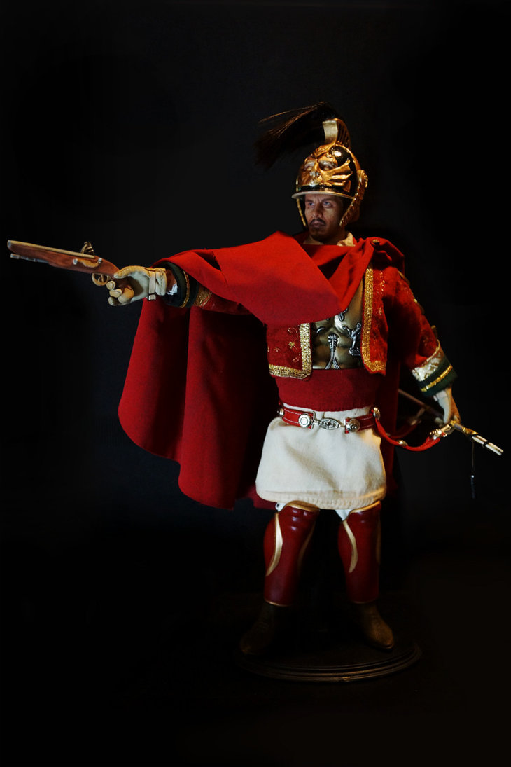 duke of yorks greek infantry officer by justin b